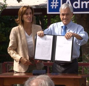 [VIDEO] Polémica por proyecto Admisión Justa