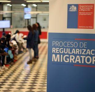 110 mil extranjeros inscritos en proceso de regularización obtuvieron su visa