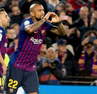 Barcelona vs Eibar: Horario y dónde ver el duelo entre Arturo Vidal y Fabián Orellana