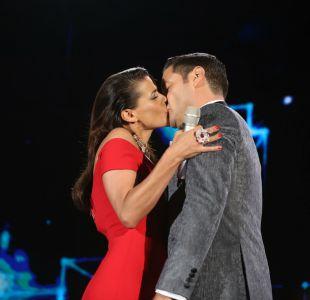 Festival de Las Condes: el último beso de Tonka y Pancho Saavedra