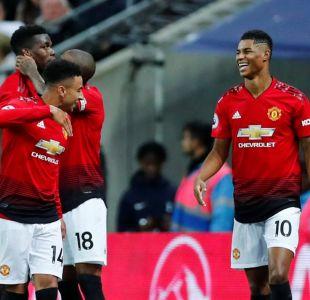 Sin Alexis Sánchez, el Manchester United derrotó al Tottenham