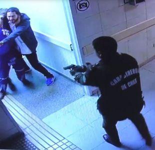 Carabinero disparó a sujeto que intimidó a doctor con un cuchillo