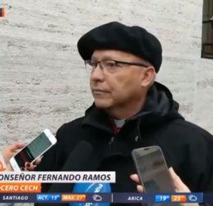Fernando Ramos, presidente de la Conferencia Episcopal de Chile