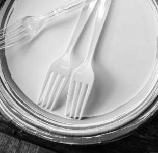 Santiago buscará prohibir el uso de utensilios plásticos en la comuna