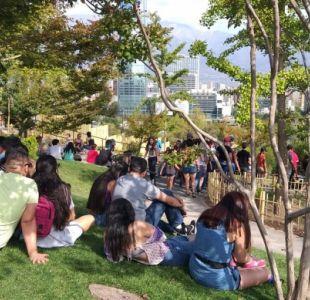 """Jardín Japonés: """"Es un lugar de contemplación, no un balneario"""""""