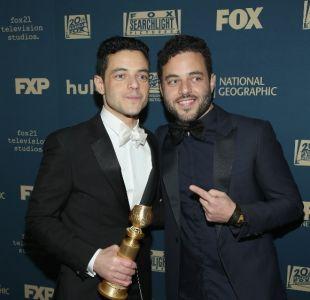 [VIDEO] La increíble historia que ocultaba Rami Malek con su hermano gemelo