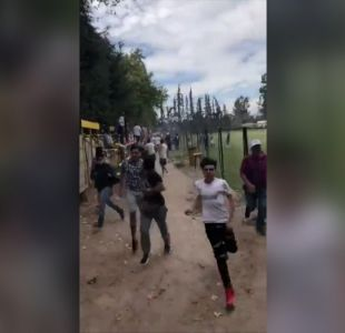 [VIDEO] Mortal balacera en partido de fútbol