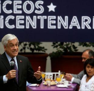 Sebastián Piñera rectifica dichos sobre industria de la educación