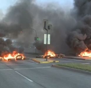 Protestas en Talcahuano por Ley de la Jibia