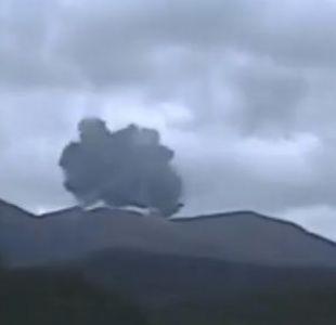 [VIDEO] Registran erupción de un volcán en una isla del suroeste de Japón