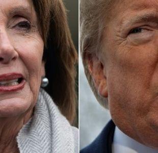 Trump anula un viaje de líder demócrata por el cierre de gobierno
