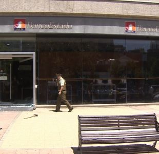 [VIDEO] Balacera en asalto a banco