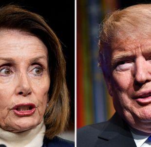 Cierre del gobierno: inaudita respuesta de Trump a Nancy Pelosi a quien canceló viaje a Afganistán