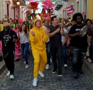 [VIDEO] Bad Bunny y Jimmy Fallon protagonizan nueva versión de MIA en las calles de Puerto Rico