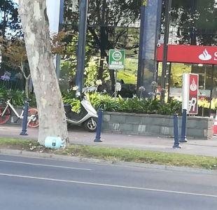 Artefacto sospechoso en Las Condes