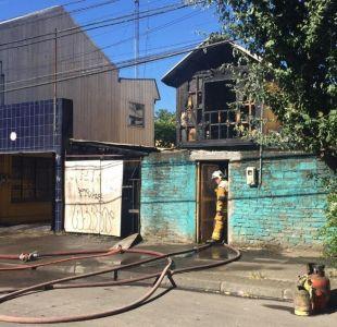 Mujer de 71 años murió en incendio en Concepción
