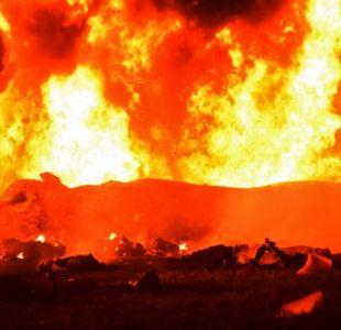 [VIDEO] Al menos 21 muertos y 71 heridos por incendio en ducto de combustible en México