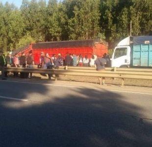 Valdivia: Accidente vehicular deja al menos tres muertos en Ruta 5 Sur