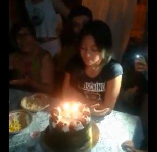 [VIDEO] El cumpleaños feliz interrumpido por el sismo en Coquimbo
