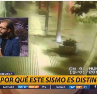 """[VIDEO] Marcelo Lagos explica por qué fue """"distinto"""" el sismo en la Región de Coquimbo"""