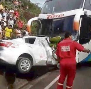 Perú: Jóvenes que habían sido aceptados en equipo de fútbol mueren en accidente vehicular