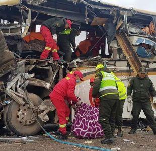 Al menos 35 muertos en accidentes de autobuses en Bolivia durante el fin de semana