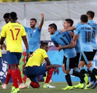 Uruguay trepó a la cima del grupo B tras derrotar a Ecuador en el Sudamericano Sub 20