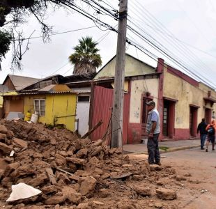 Sismo en región de Coquimbo: Onemi informa sobre 20 damnificados y cerca de 6 mil clientes sin luz