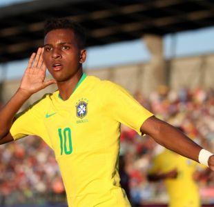 [Minuto a Minuto] Brasil está venciendo a Venezuela por el Grupo A del Sudamericano Sub 20