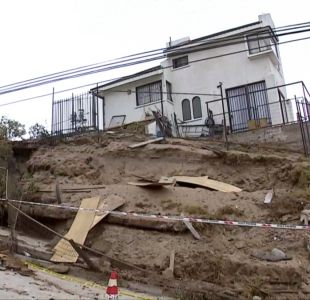 [VIDEO] Inmenso socavón producto del sismo en Coquimbo
