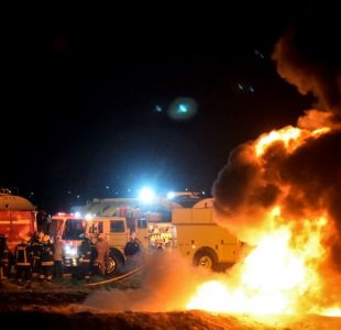 Suman 95 fallecidos por explosión de ducto en México