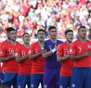 [VIDEO] Sudamericano Sub 20: Así se escuchó el himno de Chile en el duelo ante Brasil