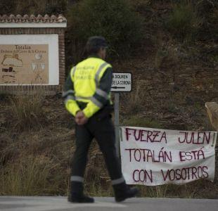 Grupo de mineros desciende en busca de Julen, el niño atrapado en un pozo en España