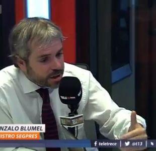Gonzalo Blumel critica a la izquierda por Venezuela