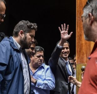 Exclusivo T13: Juan Guaidó asegura que no hay ningún tipo de temor