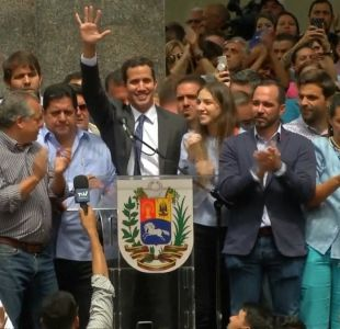 [VIDEO] Crece tensión por situación de Venezuela