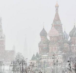 [FOTOS] Las increíbles imágenes de la nevada más intensa en 68 años en Rusia