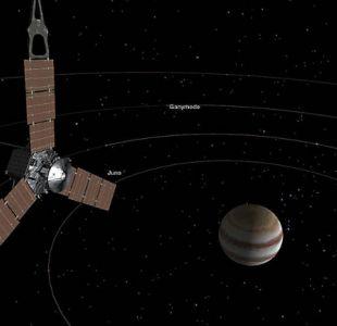 [FOTO] Sonda Juno capta dos increíbles tormentas en Júpiter