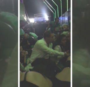 [VIDEO] Balacera en discoteque de Reñaca