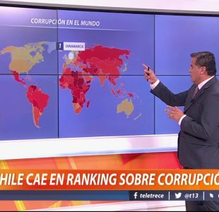 [VIDEO] Chile cae en ranking sobre corrupción
