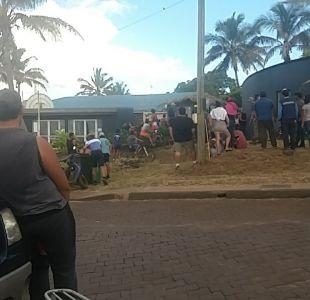 [VIDEO] Ubilla confirma traslado de detenido en Rapa Nui para evitar nuevos incidentes