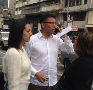 Periodistas venezolanos detenidos junto a chilenos en Caracas