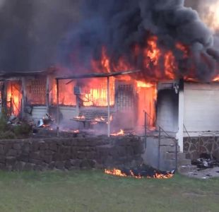 [VIDEO] Linchamiento e incendio en Rapa Nui