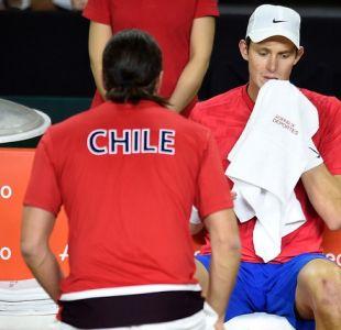 [VIDEO] Nicolás Jarry abrirá ante Jurij Rodionov la serie de Copa Davis entre Chile y Austria
