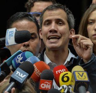 Guaidó denuncia intimidación de fuerzas de seguridad contra su familia