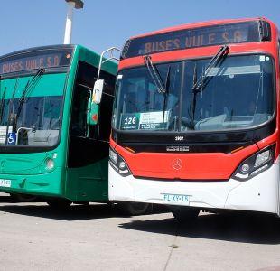 [FOTOS] Ministerio de Transportes suma 148 buses ecológicos al Transantiago