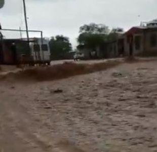 [VIDEO] San Pedro de Atacama: Confirman rescate de habitantes de Quitor aislados por lluvias
