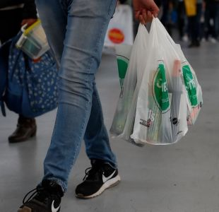 Prohibición de entregar bolsas plásticas