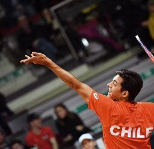 EN VIVO: Garín lucha en el segundo set ante Novak en Copa Davis