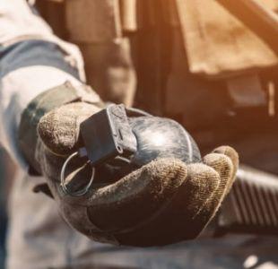 [FOTO] Encuentran una granada de la I Guerra Mundial en un cargamento de papas francesas